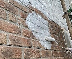 1F外壁下塗り