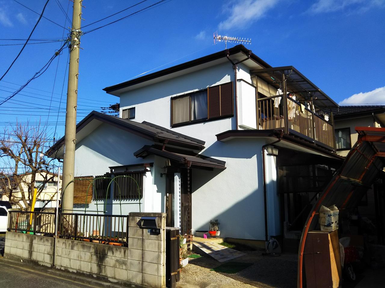 熊谷市 M様邸 外壁塗装